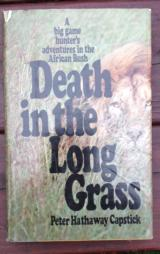 Death in the Tall grass -- Capstick - 1 of 1