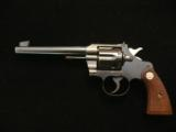 Colt Officers Model with flat top and adjustable front and rear sights in 32 Colt