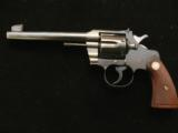 Colt Officers Model with flat top and adjustable front and rear sights in 38 - 1 of 4
