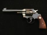 Colt Officers Model with flat top and adjustable front and rear sights in 22LR - 1 of 7