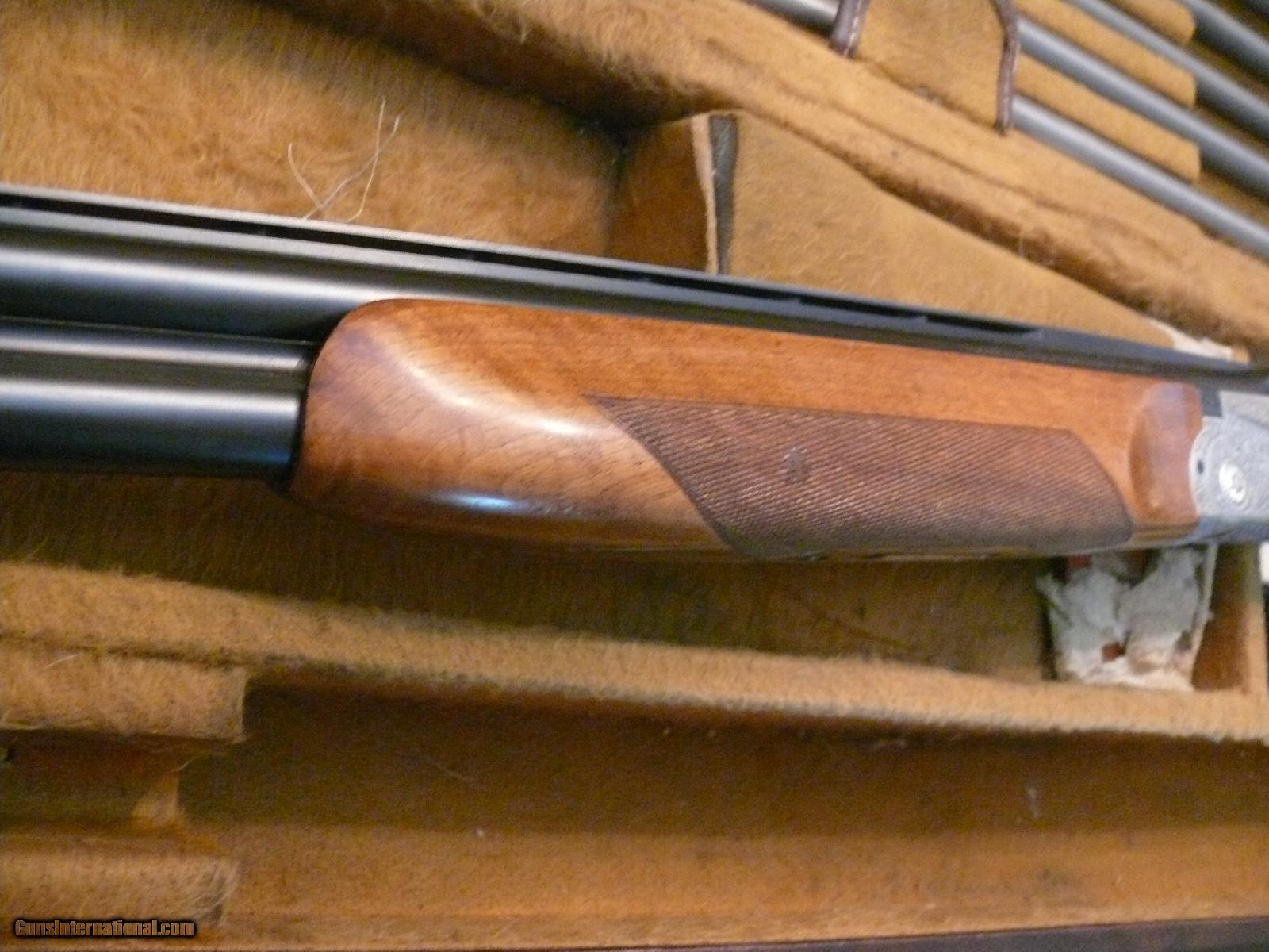 SKB 600 skeet gun with Briley tubes