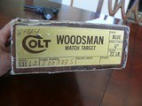 "NIB Colt Woodsman Match Target, 6"""