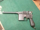 Early Large ring Variant of the Mauser 1896 Mauser