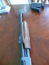 Youth Model 870, in 20 ga, Laminate stock with rifled Slug barrel and an IC barrel - 3 of 7