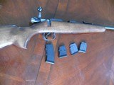 CZ452 Scout in great condition with 4 mags