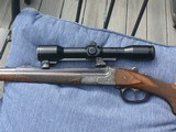 Pre-war Kessler built Break action rifle in 25-35 - 6 of 9