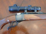 Ruger 1-S in 300 H&HMag with Leupold 30 mm Illuminated Reticle scope