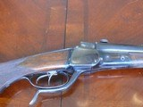 a very scarce Falling Block Double rifle in 9.3x74R made by Kalezky of Vienna - 7 of 12