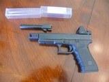 Customized Glock 22 40 cal