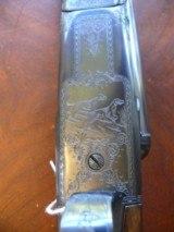 12 Ga Win Model 21 Grade 4 Winchester Custom shop gun engraved by Nick Kusmit - 3 of 20