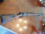 WW2 German 98K Infantry rifle made in 1936 by the Mauser Werke