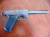 1920 Stevens Single shot tip up pistol in 22lr