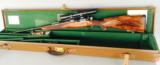 Best quality Holland & Holland take down rifle, Left Hand stock turn bolt 375 H&H, with extra scope