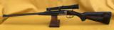 Francotte9.3x74r ejector double rifle - Engraving by Jean-Marie Smets