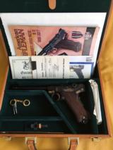 NIB unfired Luger P08 Kaiserliche Marine9mm