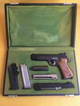 SIG 210 30 Luger with 9MM barrel and 22lR convertion.