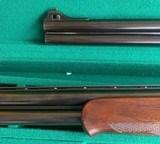 Chapuis O/U 12 Ga 2 barrel set , Shot and Slug - 3 of 7