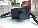 Leica M7 0.72 black body with accessories, barely used