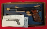 Smith and Wesson model 41 .22 target pistol