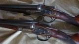 """J. Purdey pair 12 ga. game guns """"Dean Witter"""""""