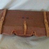 Joseph Lang Oak & Leather gun case - 2 of 4