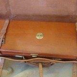 Joseph Lang Oak & Leather gun case - 3 of 4