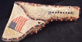 Beaded Crow Indian Scout Holster - 1 of 2