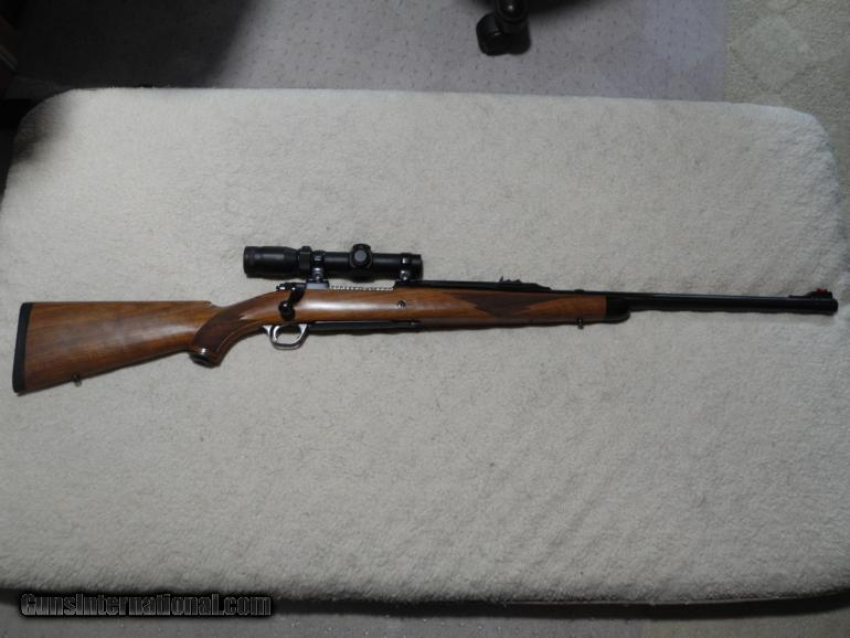 Ruger 77 Magnum 416 Rigby, Leupold VXR scope, Dies and Ammo