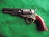 COLT CASED 1849...W/ Cartridges, Mold & Caps..FINE...(Layaway?) - 7 of 15