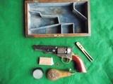 COLT CASED 1849...W/ Cartridges, Mold & Caps..FINE...(Layaway?) - 2 of 15