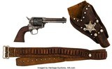 Colt SAA Revolver with Leather Holster...Mfg 1890....LAYAWAY?