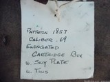 """""""Authentic"""" CIVIL WAR Cartridge Box with SNY Boxplate!...Fine .....LAYAWAY? - 4 of 12"""