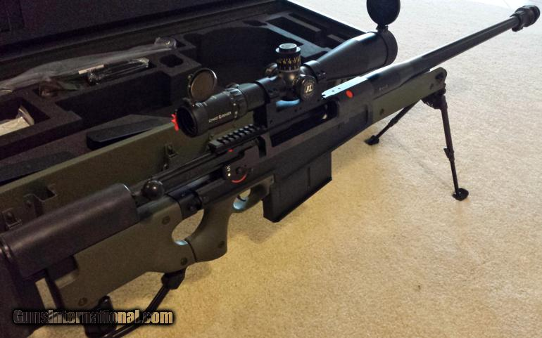 Accuracy International AW50 with Full Deployment Kit  50 BMG