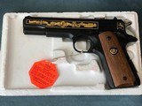 Colt 1911 Joe Foss Commemorative 45 ACP *only 300 made