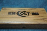 """Colt Single Action Army 150th Ann. 45 Colt 10"""" Mint - 2 of 14"""