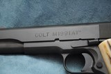 Colt M1991 A1 Series 80 1911 45 ACP in Box with Extras - 4 of 9