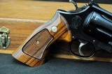 """Smith & Wesson Model 57 - 41 Magnum 8 3/8"""" Mint in Wooden Box - 3 of 13"""