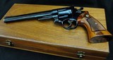 """Smith & Wesson Model 57 - 41 Magnum 8 3/8"""" Mint in Wooden Box - 5 of 13"""