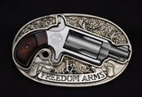 Freedom Arms Belt Buckle 22 Mag with Case