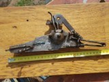 Antique wheel lock wheelock detached mechanism musket rifle flintlock