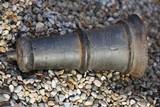Antique medieval cannon petard