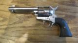 Colt Single Action Army .45 LC Revolver Nickel - 2 of 10