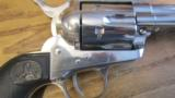Colt Single Action Army .45 LC Revolver Nickel - 7 of 10