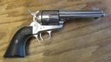 Colt Single Action Army .45 LC Revolver Nickel - 6 of 10