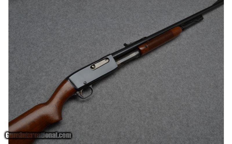 Remington 141 Pump Action Rifle in .35 Rem