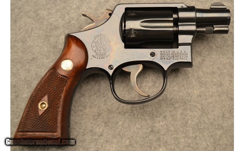 SMITH & WESSON  38 SPECIAL REVOLVER SNUB NOSE