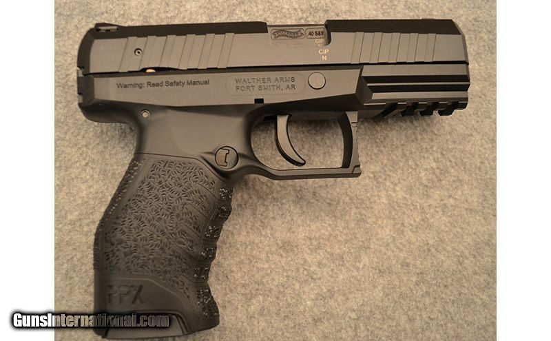 Walther ~ PPX ~  40 S&W