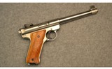 Ruger ~ Mark II Target Stainless ~ .22 Long Rifle