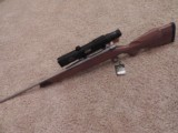 "WEATHERBY VANGUARD STAINLESS SPORTER 24"" WITH BURRIS LASERSCOPE"