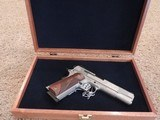 SMITH & WESSON SW1911 ENGRAVED 45ACP